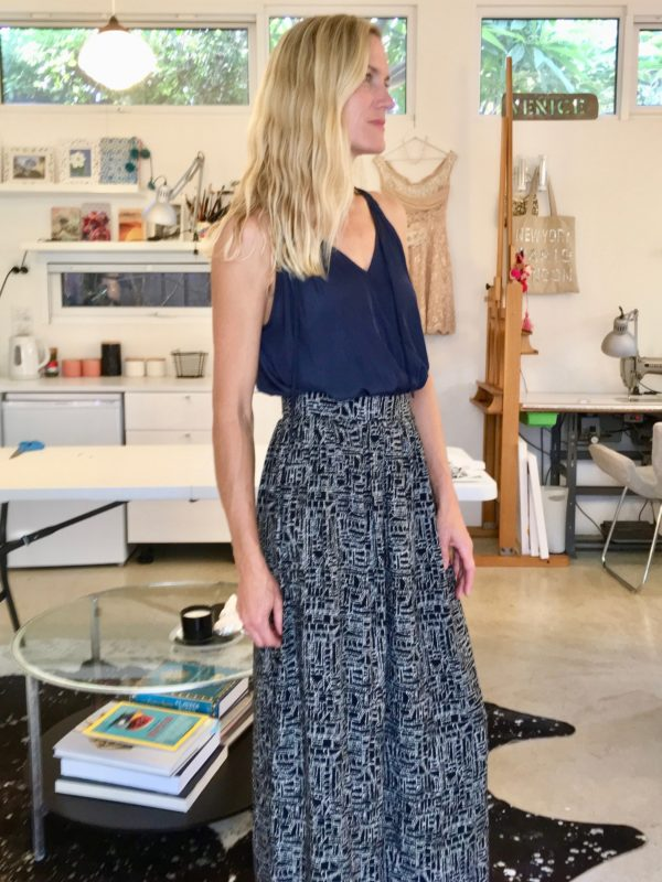 Maxi skirt design