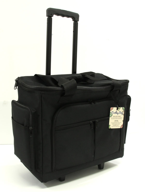 Telescopic handle trolley bag