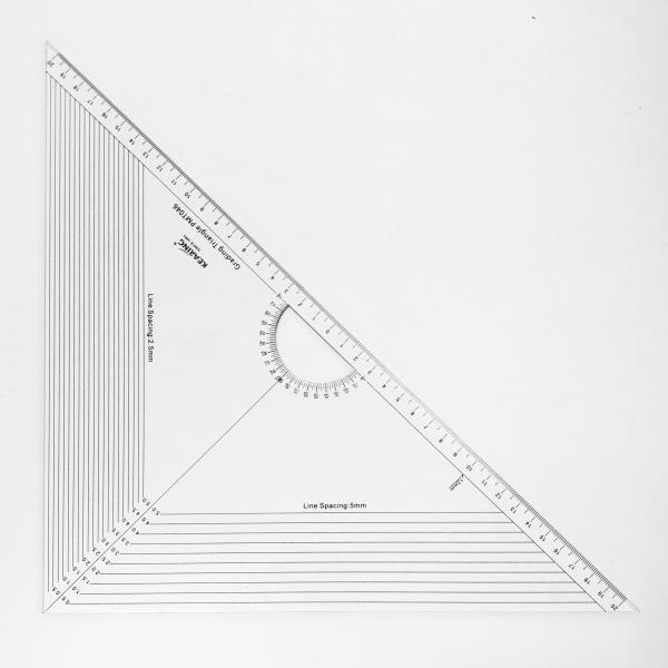 Grading ruler
