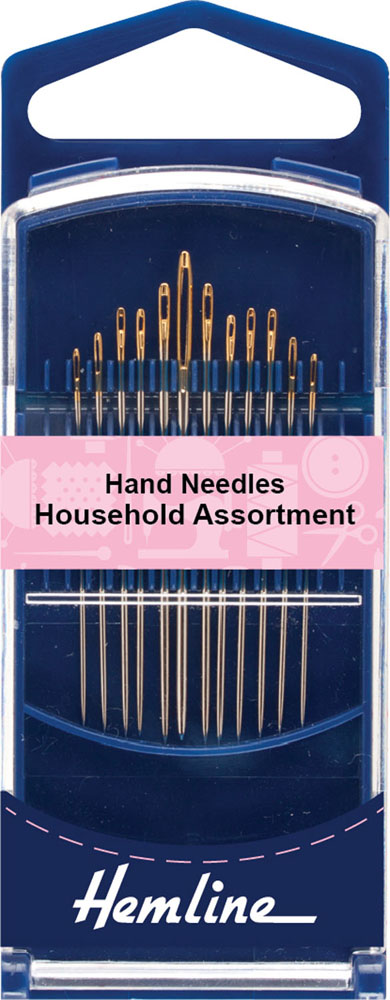 Hand sewing needles in a 12 pack