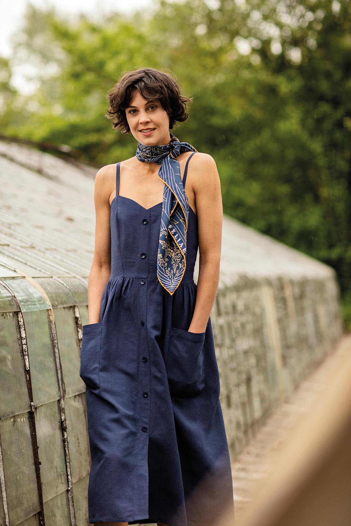 Colette dress by Fibre Mood