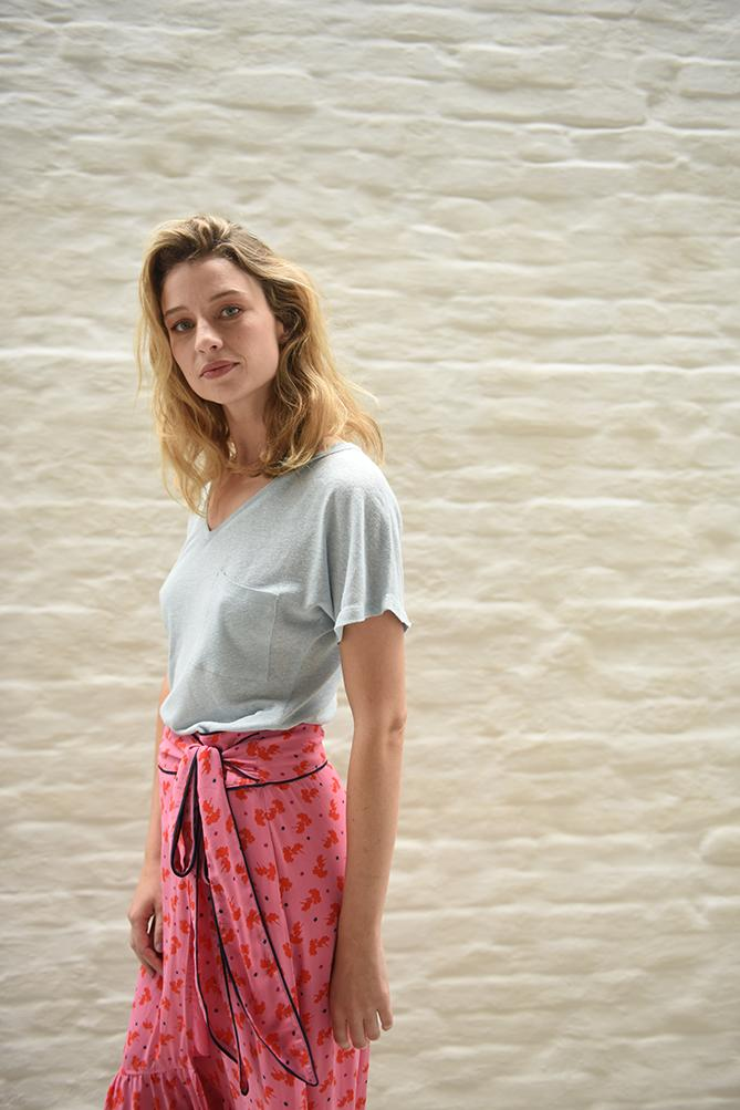 Downloadable tee shirt pattern for women