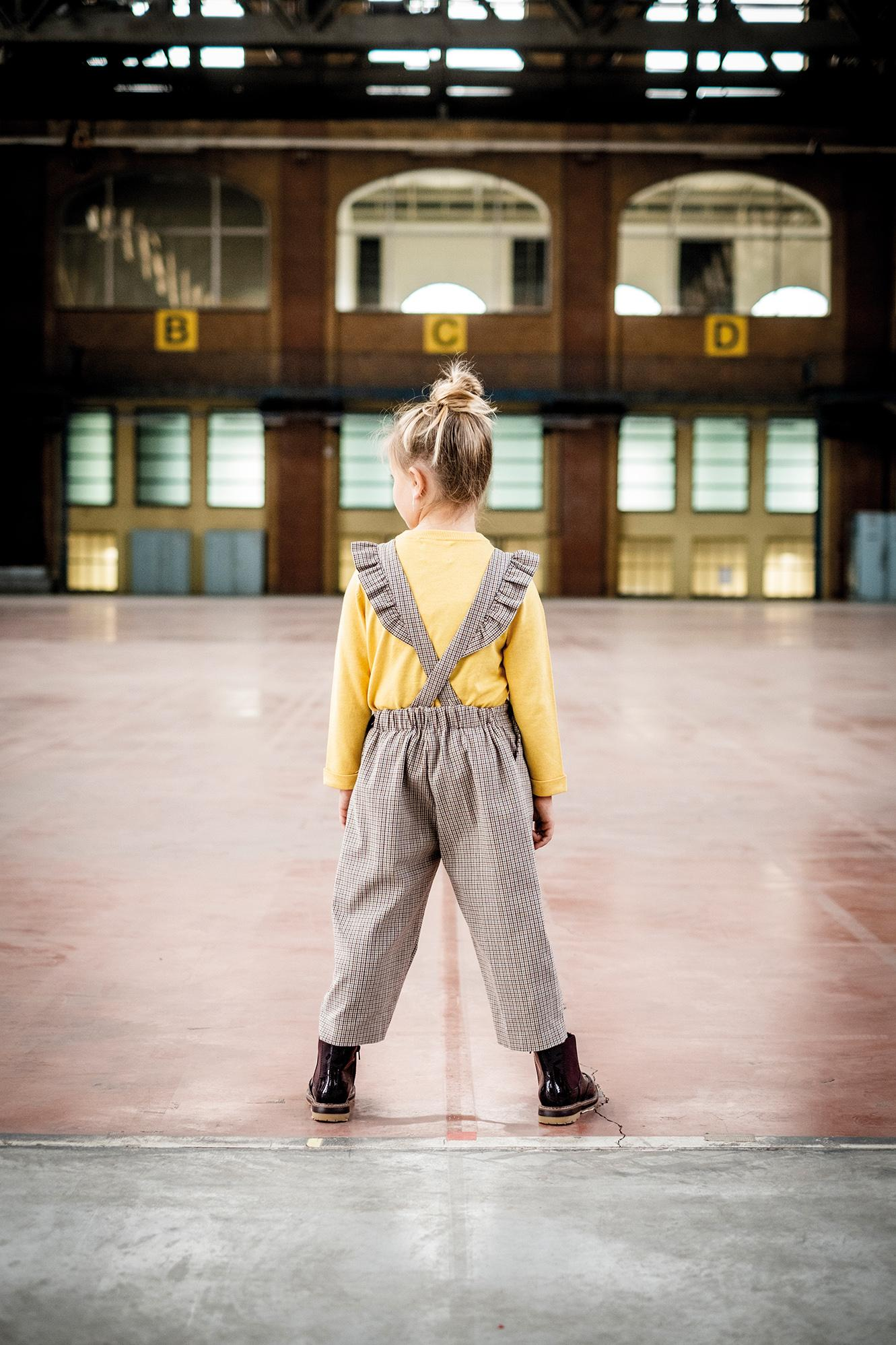girls overalls pattern